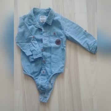 Koszulobody jeans r. 80