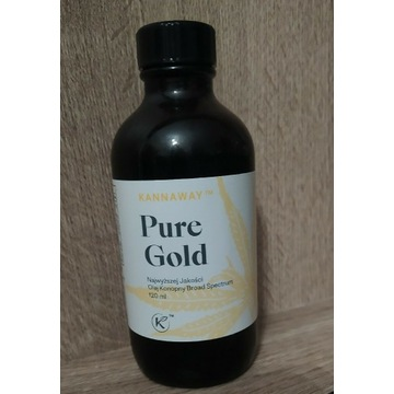 Olej konopny Pure Gold 120ml