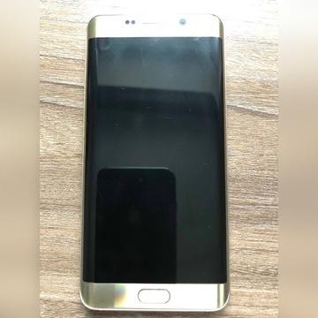 Samsung galaxy s6 edge + złoty