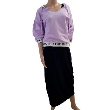Minouu sukienka i bluza Maya lila