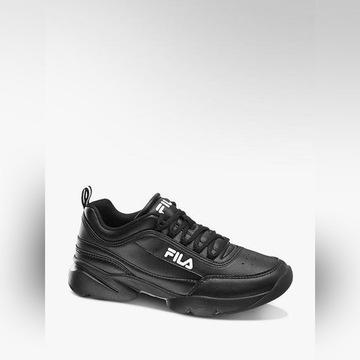 Czarne sneakersy FILA 39