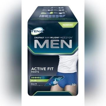 Pieluchomajtki TENA MEN Pants Active Fit M 30 szt.