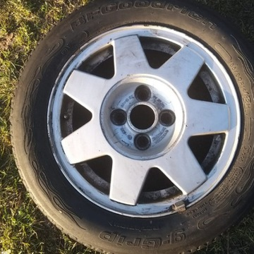 felgi aluminiowe z oponami  , VW golf, passat, kpl