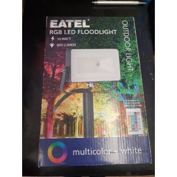 Eatel reflektor LED multi kolor