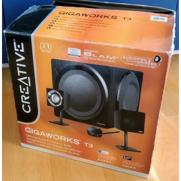 Creative Gigaworks T3 Hi-End Top głośniki 2.1