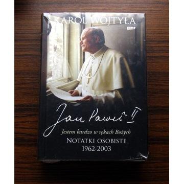 Karol Wojtyła Jan Paweł II Notatki Osobiste 1962-2