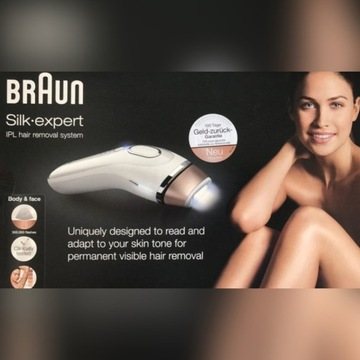 Braun silk expert depilator laserowy