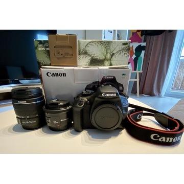 Canon EOS 1300D zestaw