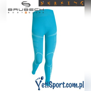 Brubeck spodnie termoaktywne dla dzieci 128-134 cm