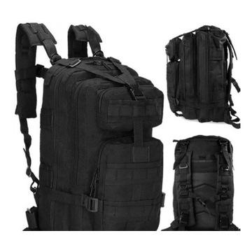 Militarny plecak taktyczny-mocny 35l duzo kieszeni