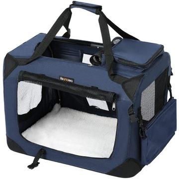 Transporter dla psa L 70x52x52 torba kota zwierząt