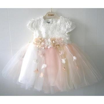 Sukienka dziewczęca roz. 116, 5-6 l