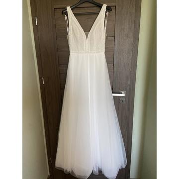 Suknia ślubna AmyLove boho 2020 r. 38