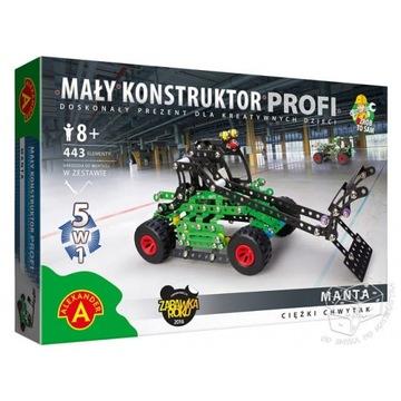 Mały konstruktor Profi. 5w1.