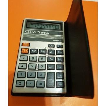 Kalkulator Citizen LC-516N lata 80te gratis ELS302