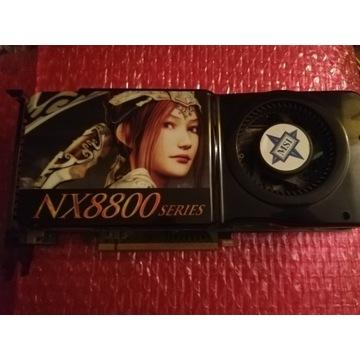 Karta graficzna MSI NX8800GTS