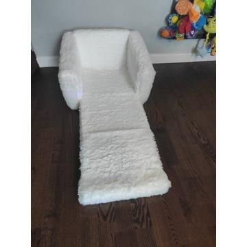 Fotel siedzisko pufa łóżeczko materac dla dziecka