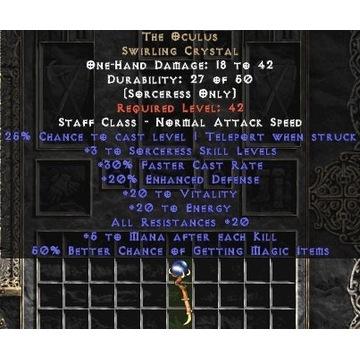 Okulus / Occulus - Diablo 2 LOD NOWY LADDER