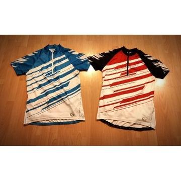 Dwie męskie koszulki rowerowe Crivit, L