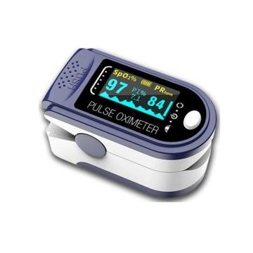 Medyczny pulsoksymetr  napalcowy  Oled + gratis