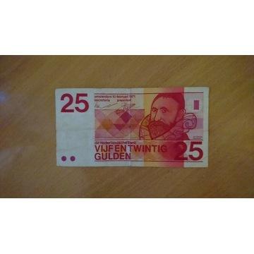 Holandia 25 guldenów