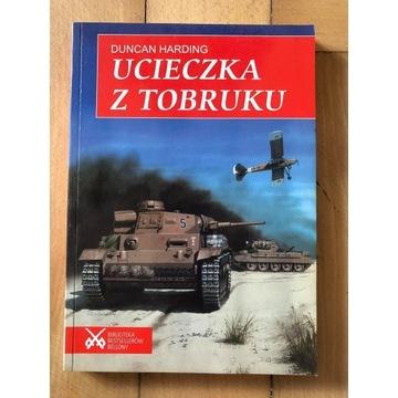 """Ucieczka z Tobruku"" Duncan Harding"