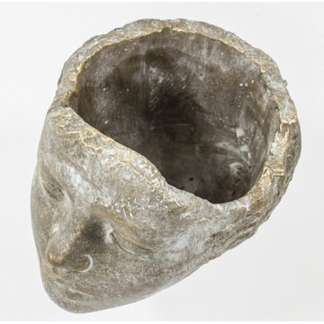 Wyjątkowa osłonka kobieca głowa - brąz