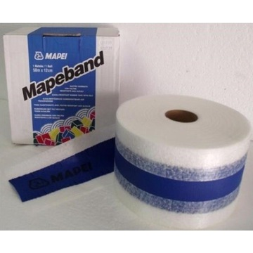 Taśma uszczelniająca Mapeband 120mm x 50m Mapei