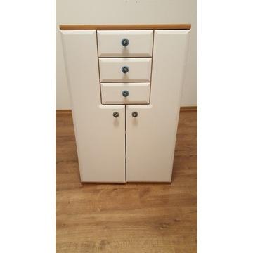 Komoda 2-drzwiowa z szufladami