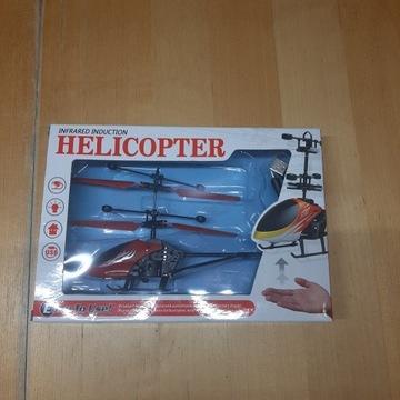 Helikopter wyczuwający rękę