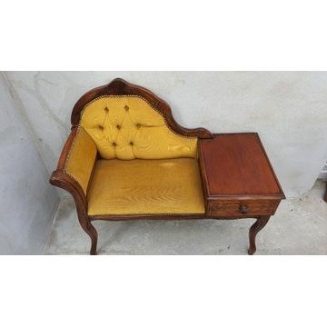 Stare siedzisko,szafka, stolik LUDWIK