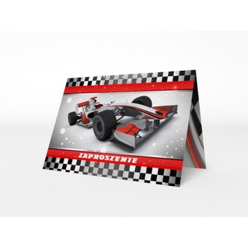 Zaproszenie okolicznościowe urodzinowe F1 koperta