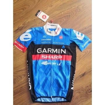 Koszulka rowerowa castelli climbers jersey garmin