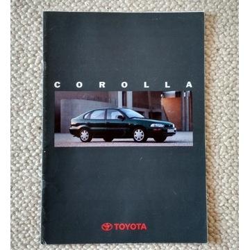 Prospekt Toyota Corolla 1992