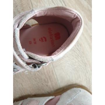 Sandały - kapcie  roz 23