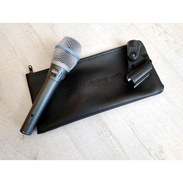 Mikrofon pojemnościowy SHURE BETA 87A
