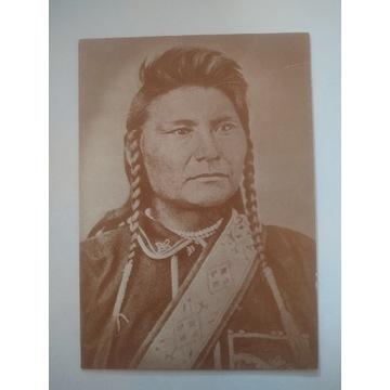 Pocztówka Whites Chief Joseph Indianin