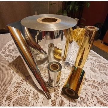 Folia srebrna i złota do embossingu i dekupażu