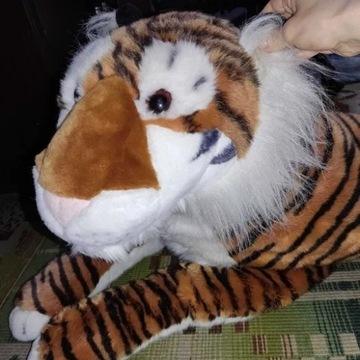 Duży Tygrys pluszak, maskotka, pluszowy
