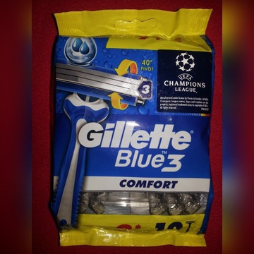 Gillette Blue 3 Comfort - 12 szt.