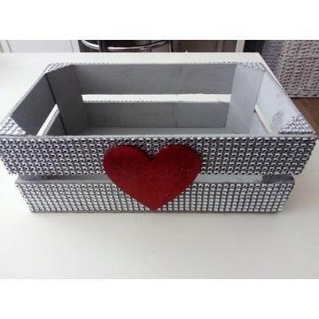 Pudełko Skrzynka ozdobna 25x15x10