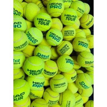 Używane Piłki Tenisowe dla psa, cena za 15 piłek