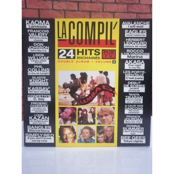 Płyta winylowa La compil 24 hits