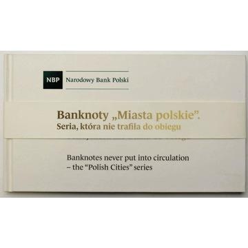 Album Banknoty Miasta Polskie st.1