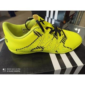 Buty Adidas X15.4 IN J halówki roz 38 wkładka 24cm