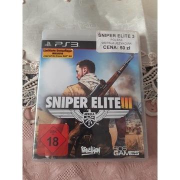 Sniper Elite 3ps3 po polsku stan bdb