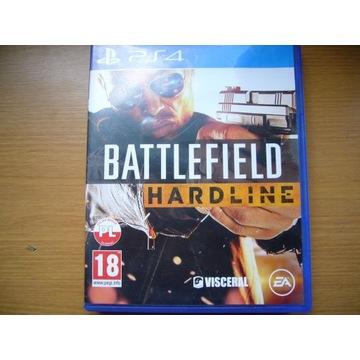 BATTLEFIELD HARDLINE PL PS4 IDEAŁ!!