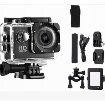 Kamera sportowa FULL HD 1080p