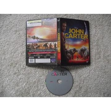 JOHN CARTER, super film (DVD),jak nowa