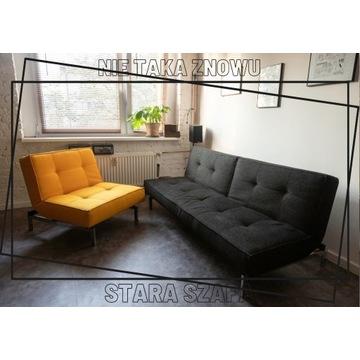 Sofa rozkładana i fotel rozkładany INNOVATION LIVI